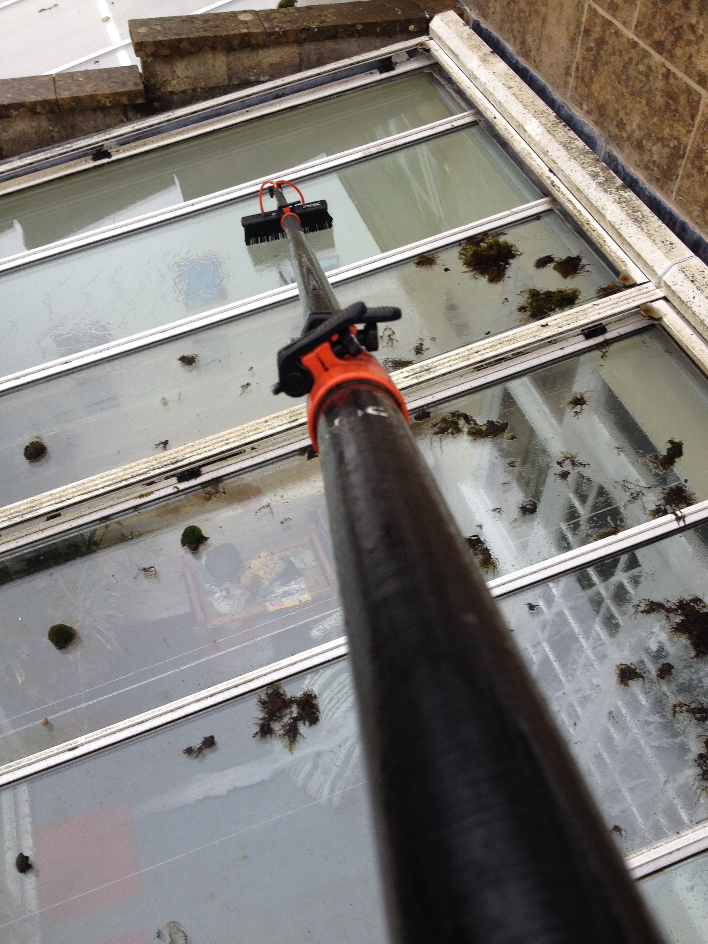 Conservatory Roof Cleaning - Clean And bright Gutters of Bath