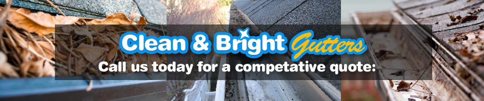 Bath gutter cleaning - Clean and Bright Gutters